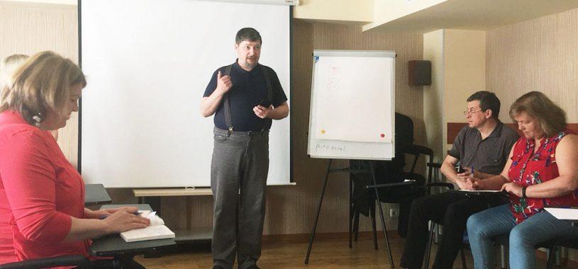Выступление на конференции по профилактике в Тольятти